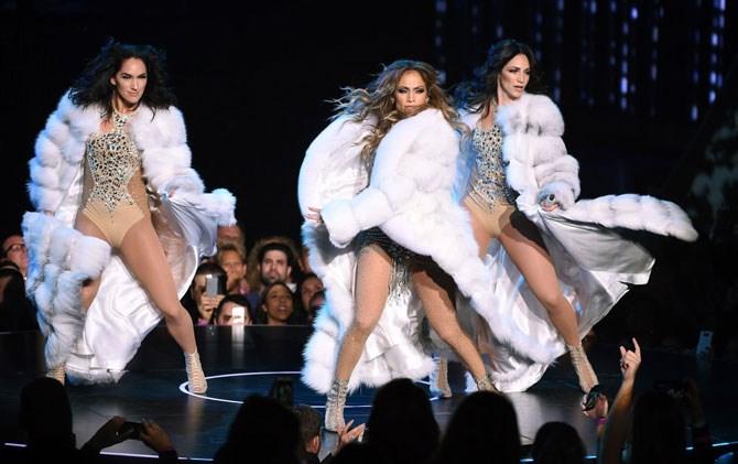 White fur coats were all she haaaaad....