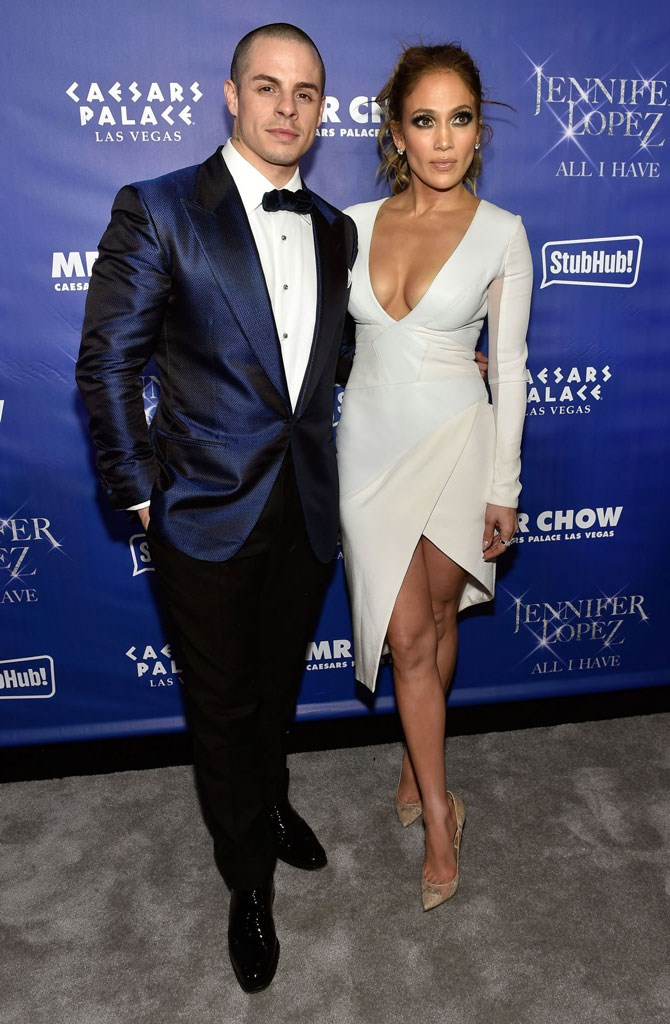 And after all was said and done, JLo took her bae, Casper Smart, to the opening of a new Mr. Chow restaurant (so jelly) wearing a comparitively toned down, demure, structured white dress and nude pumps. She needn't say more.