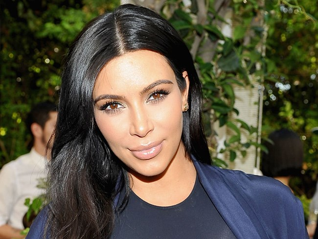 The genius trick to getting Kim Kardashian's perfect wavy hair