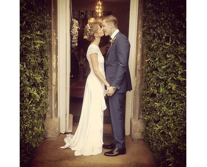 **109,000 likes** Millie Mackintosh got her witty caption on, titling her super cute big day pic as 'Self explanatory'.