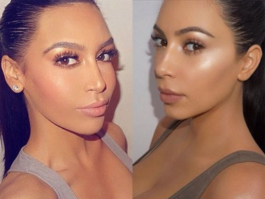 There's another Kim Kardashian lookalike