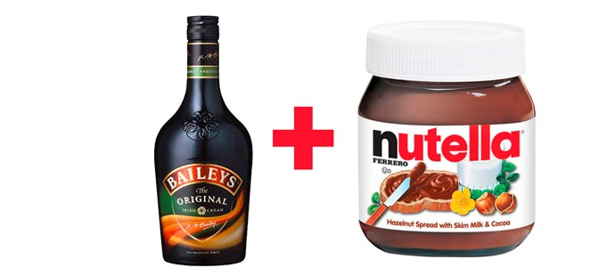 **8. Baileys with Nutella.**