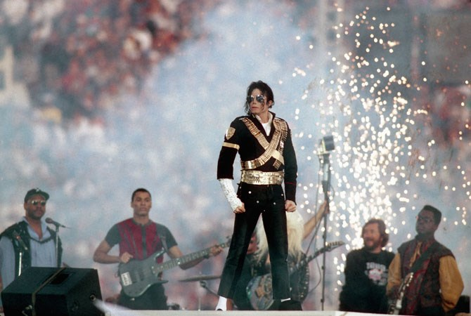 Michael Jackson's three-song medley from 1993 has gown down as one of the best performances in Super Bowl history.