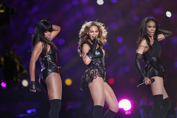 Destiny's Child fans were delighted with this reunion in 2013.