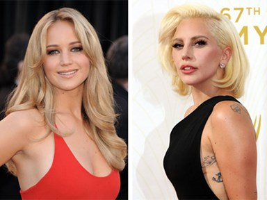 Lady Gaga is Jennifer Lawrence's biggest fangirl right now