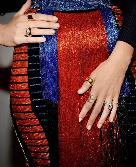 28. OK, so maybe we don't all get to wear Balmain, but sparkles get us *every* time.
