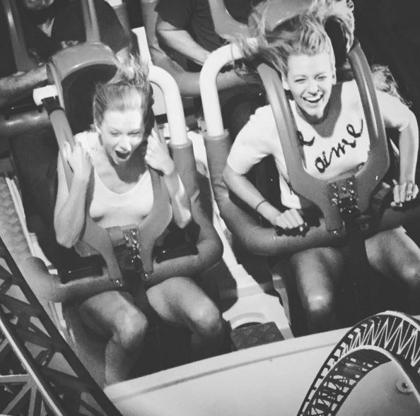 27. When T-Swizzle and B-Lizzle showed a rollercoaster who's BOSS.  Just never stop posting.