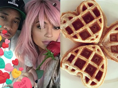 Here's what your fave celebrities got up to on Valentine's Day