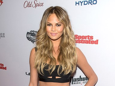 So this is the weirdest beauty treatment Chrissy Teigen's ever had