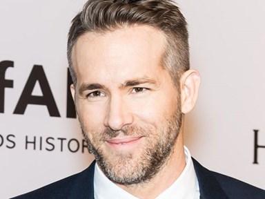 Ryan Reynolds proving he's the perfect human...again