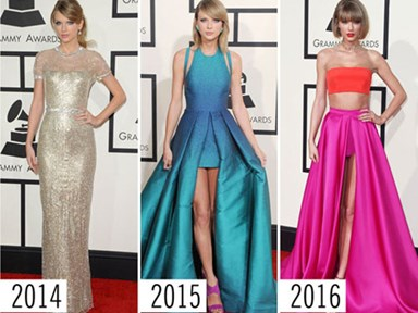 7 celebrities and their mind-blowing Grammys style evolutions