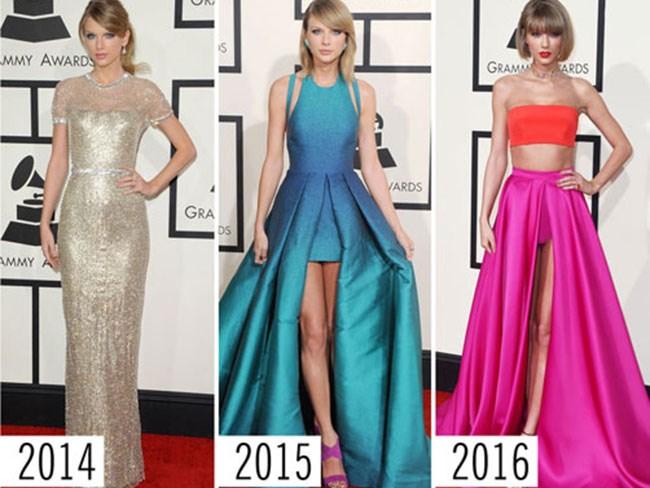 Grammys style evolution