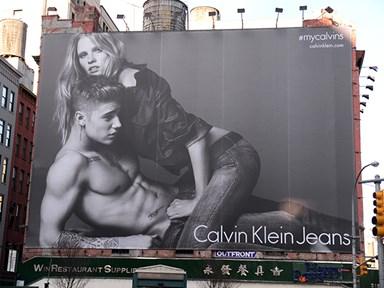 5 celebrities who've bagged hot AF Calvin Klein models