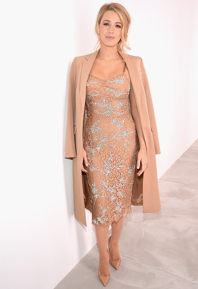 Blake made her NYFW A/W 2016 debut at the Michael Kors show in what might just be out favourite nude dress of all time.