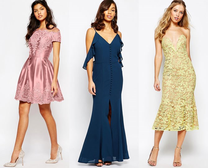 "**[ASOS](http://rstyle.me/n/dhb2mvs36|target=""_blank"")** ASOS is a budget-savvy bride's best friend. It has the biggest collection of dresses online you're going to find, and their price ranges from super cheap, to a little more exxy. So this could be a case of just telling your bridesmaids to jump online themselves and start scrolling through. It will take the guess-work out of everything as they know what suits their body shape and they'll be able to show you what their budget is, without actually saying the words."