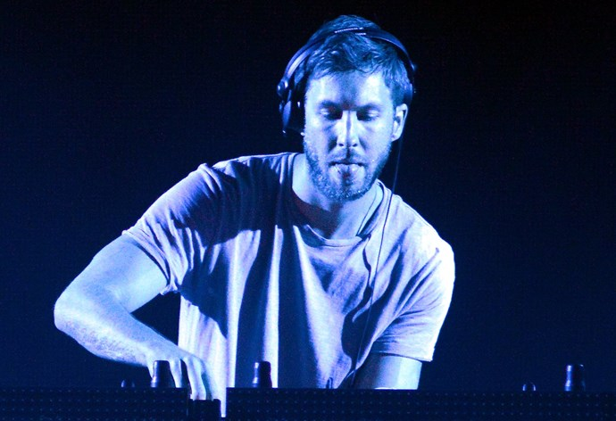 **Calvin Harris — Local fish factory:**  Calvin Harris can scale our fish any day. The dreamboat of a Scot used to work at a local fish factoring filleting salmon to fund his passion for DJing. Now that's commitment.