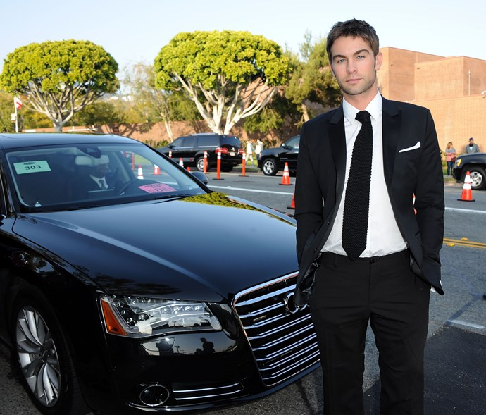 **ChascCrawford — Valet:**  Before he hit the big time, Chace Crawford worked as a valet to earn a buck. If he's anything like Nate IRL, we bet he'd be fogging up a few of those luxury cars' windows with a bit of back seat hanky panky.