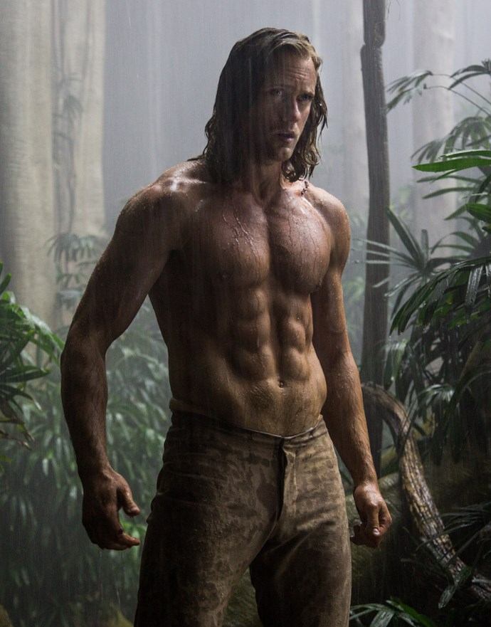 """**Alexander Skarsgard — Military:**  If you haven't seen how ~hot~ Alexander Skarsgard is in [previews for Tarzan](http://www.cosmopolitan.com.au/celebrity/hot-guys/2015/12/alexander-skarsgards-abs-are-insane-in-new-tarzan-film/