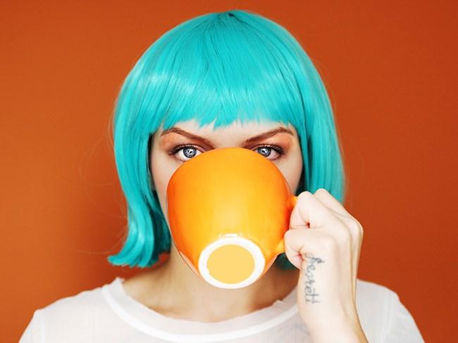 make coffee your bitch