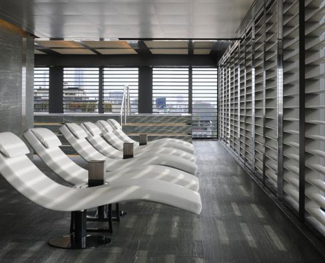 "**[Armani Hotel, Milan ](http://www.booking.com/hotel/it/armani-milano.html?label=gen173rf-13CAsocUINYXJtYW5pLW1pbGFub0gxWANoD4gBAZgBMbgBBsgBDNgBAegBAaICE2Nvc21vcG9saXRhbi5jb20uYXU;sid=60b77c1870ac9890588fce0f935cb988;dcid=12;dist=0&sb_price_type=total&type=total&|target=""_blank"")   **Georgio Armani's Armani Hotel Milan is found in the chic Quadrilatero della Moda district in Milan. Originally built and designed by Enrico Griffini in the 1930s, all rooms are styled with Armani Casa furnishings. Each of the hotel's suites reflects the timeless Armani style - elegant, sophisticated and luxuriously comfortbale - designed by Georgio himself.     *Image supplied by Booking.com *"