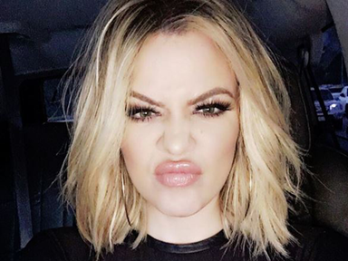 Khloé Kardashian reveals the secret to her fuller lips
