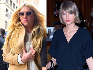 Taylor Swift just gave $250k to Kesha because GIRL POWER