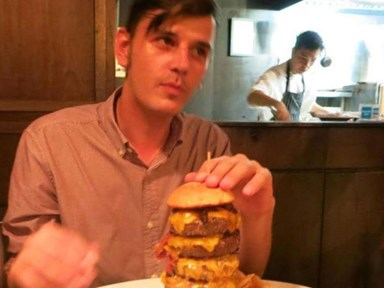 Meat the guy that changed his name to Bacon Double Cheeseburger