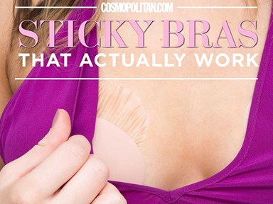 I tried 16 sticky bras — here are the ones that actually worked