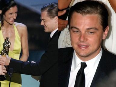 11 photos of Leonardo DiCaprio not winning Oscars at the Oscars