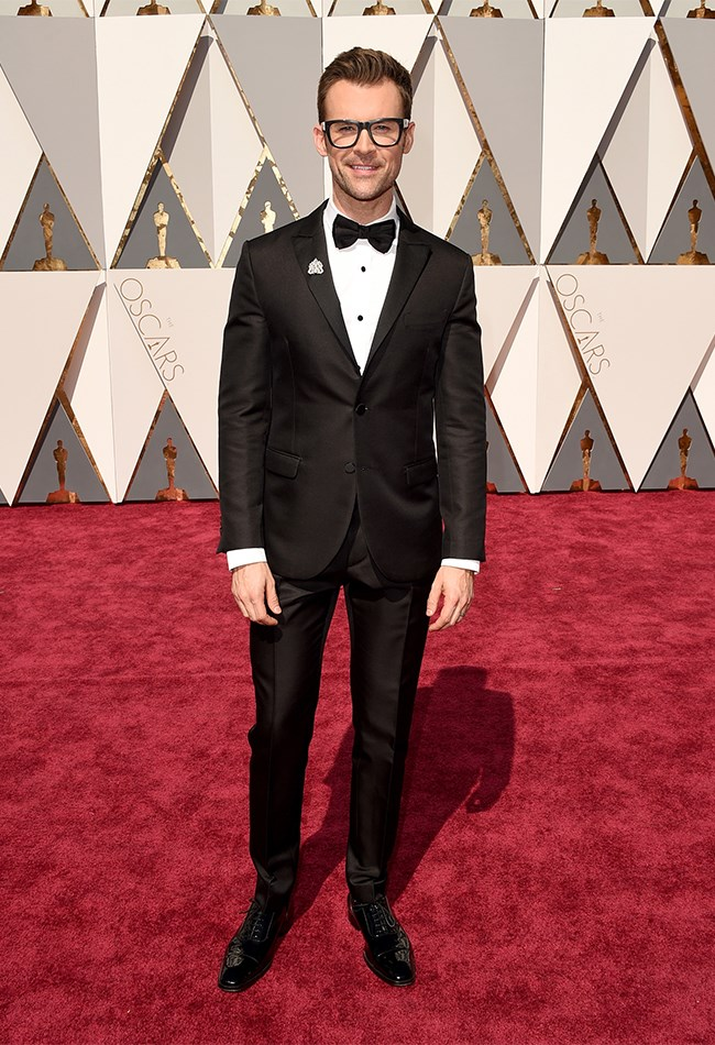 Brad Goreski looks super sharp AS ALWAYS.