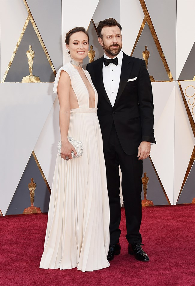 Jason Sudeikis, you're cute too, but Olivia wins. Soz.