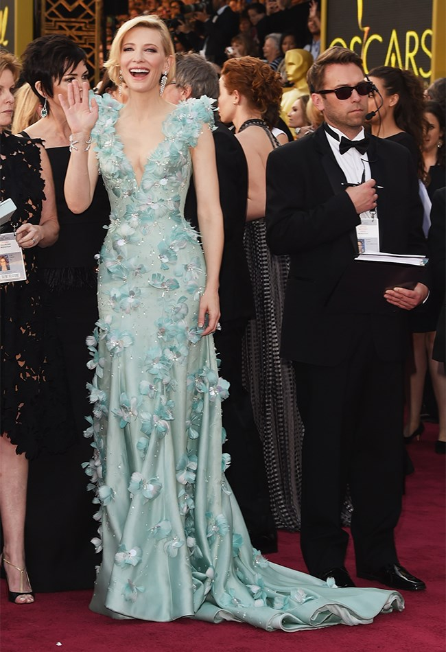 "Cate Blanchett has taken her fairytale moment and said ""you know what? Imma dress like a fairytale princess!"" At least, that's what we THINK she would have said. Cause she looks like an actual fairytale princess."