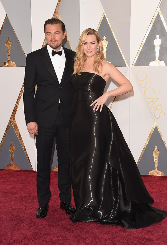 BUT SHE DID ROCK UP WITH LEO! Which made up for all boring fashion choices. We've got our fingers and toes crossed for Leonardo DiCaprio to take out the win this year. HE'S WAITED LONG ENOUGH!
