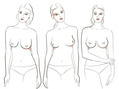 There are seven different types of boobs in the world, apparently