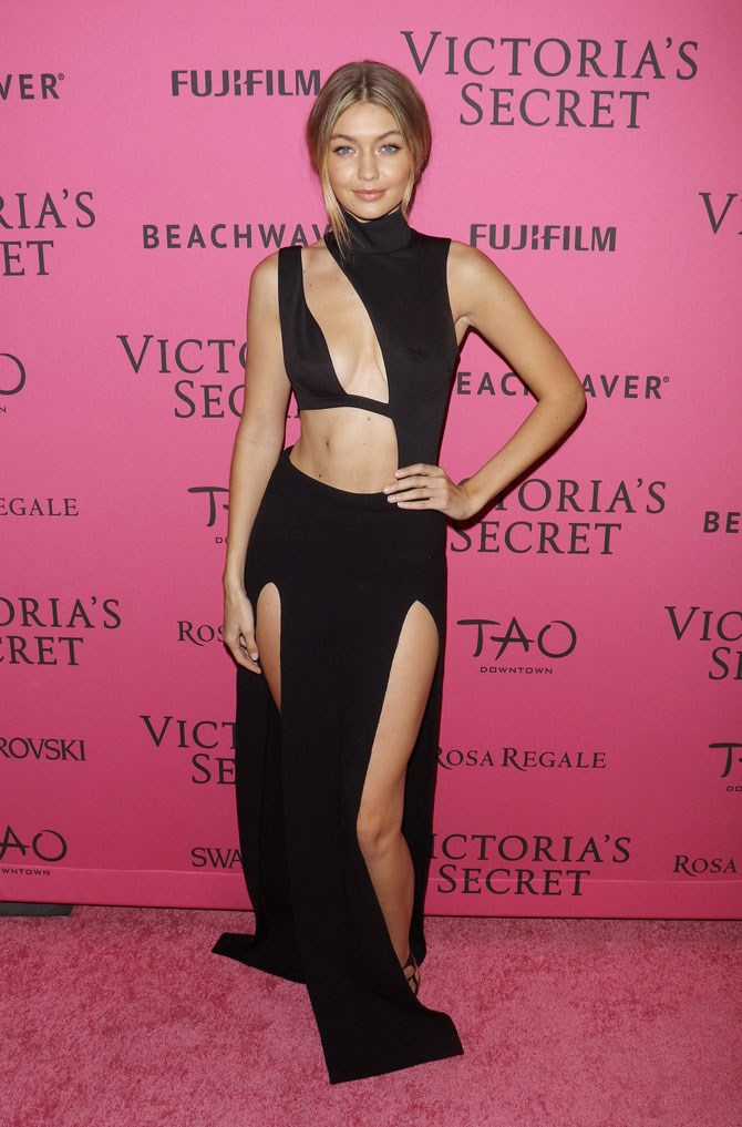 This year Gigi walked the Victoria's Secret runway for the first time (and absolutely slayed) but it was what she wore to the after party that had all of our jaws on the floor.
