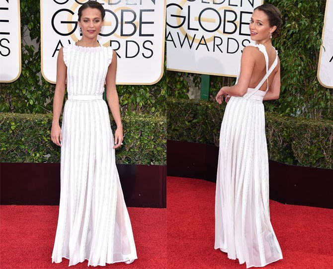 HANDS DOWN the best dressed for this year's Golden Globe Awards.