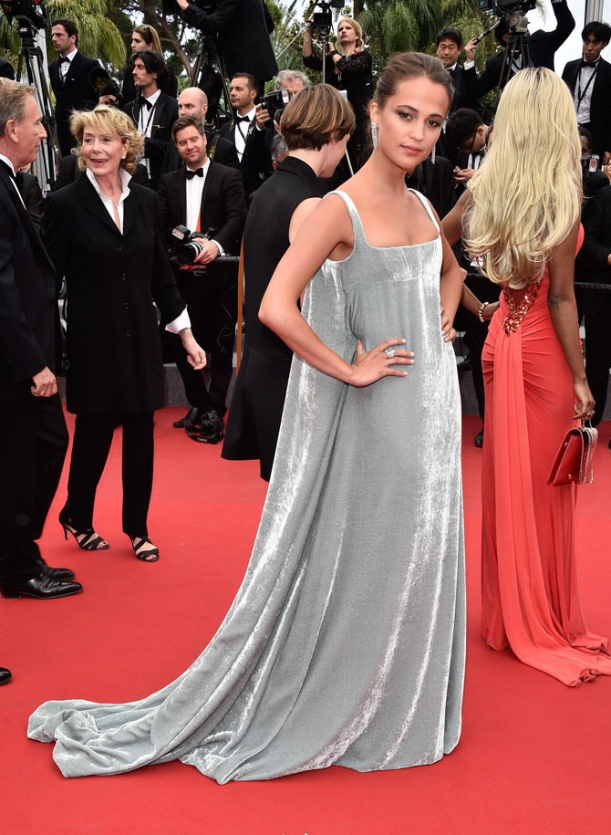Granted, when we saw this picture pop up at the Cannes Film Festival last year, we didn't really recognise the face. But were GOBSMACKED by the beauty of this gown and right then and there we needed to know everything about the girl who was wearing it.