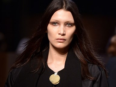 Did this model try to sabotage Bella Hadid on the Givenchy runway in Paris?