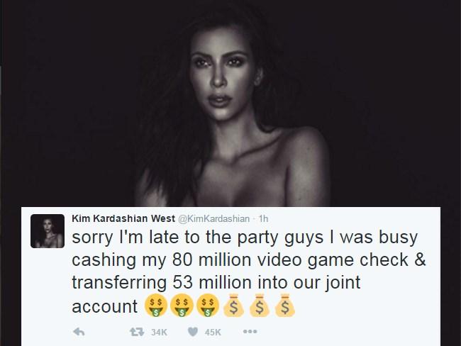 kim kardashian naked instagram twitter comebacks