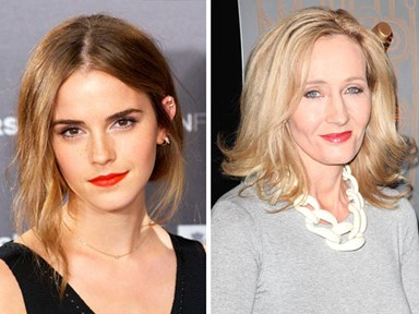 This Twitter exchange between Emma Watson and J.K. Rowling on International Women's Day is #Goals