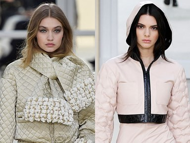 Kendall Jenner and Gigi Hadid were #flawless on the runway at Chanel