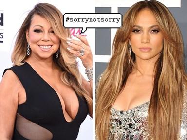 Mariah Carey goes full Mariah with this shade thrown at J.Lo
