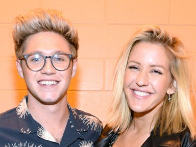 Ellie Goulding finally clears up what went down with the Niall Horan and Ed Sheeran love triangle