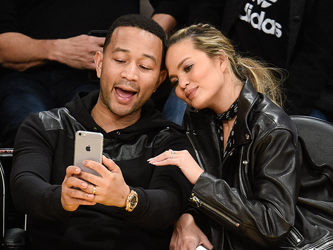 John Legend and Chrissy Teigen shut down Donald Trump Jr on Twitter
