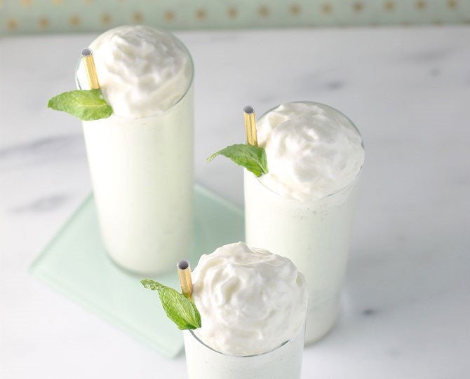 """**12. Boozy Shamrock Shake** You can't go wrong with the Shamrock Shake from McDonalds, but you *could* make it right by DIY-ing a boozy version at home. Get inspired with the recipe from *[Sugar & Cloth](http://sugarandcloth.com/2016/02/boozy-shamrock-shake-recipe/
