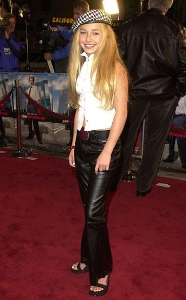 **2001** Before she raided Christina Aguilera's wardrobe.