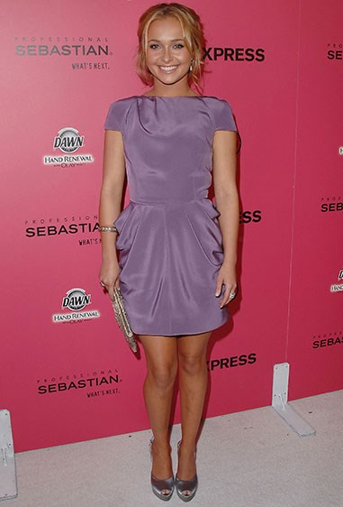 **2009** But then this super cute violet number happened.
