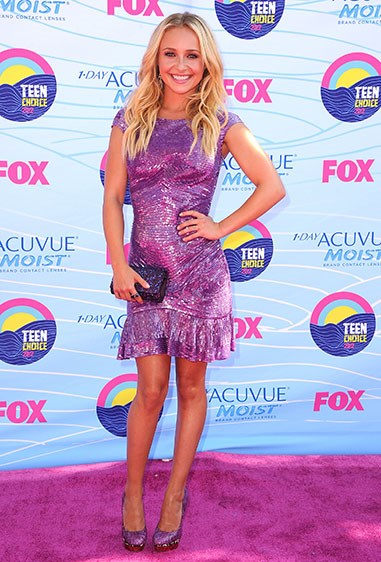 **2012** And she made purple sequins *magic*, rather than tragic.