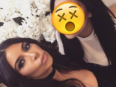 Kim Kardashian just upped her selfie game with this INSANE picture