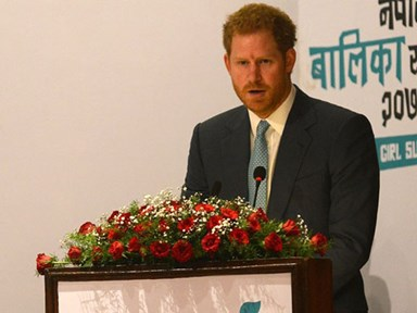 Prince Harry just captured our hearts with this BOSS feminist speech